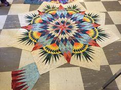 Canton Village Quilt Works   Class Pics!!! Prairie Star