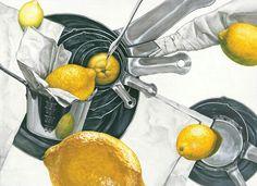 레몬,계랑컵,티슈 -미대입시