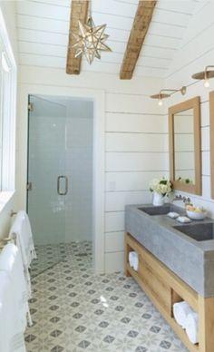 Vloer badkamer