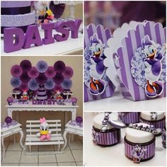 Daisy Duck Themed Birthday Party