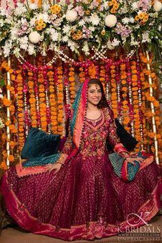 Farah Talib Aziz Mehndi Bridal