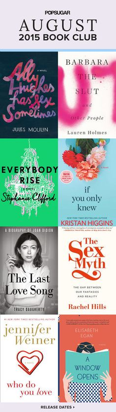 Read These 8 Sexy August Books Before Saying Goodbye to Summer: Summer's winding down, so make sure you squeeze in a few more good reads before it's truly over!