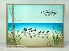 Masculine Card with Masking and Sponging - YouTube