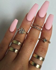 Long coffin nails It is considered attractive and lovely. They are popular with celebrities like Kylie Jenner. Long coffin nails The ends are narrowed and long nails cut. You can design nails in any color you want. They also provide… Continue Reading → Gorgeous Nails, Love Nails, My Nails, Pretty Nails, Fancy Nails, Best Acrylic Nails, Acrylic Nail Designs, Baby Pink Nails Acrylic, Coffin Nails Long