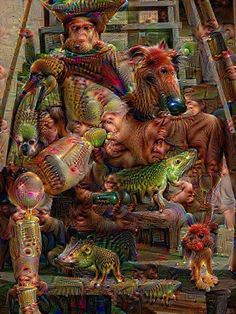 What happens when you run pornography through Google DeepDream? Sheer bad trip terror! | Dangerous Minds