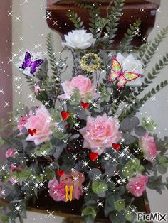 1 million+ Stunning Free Images to Use Anywhere Beautiful Rose Flowers, Flowers Gif, Beautiful Flower Arrangements, Butterfly Flowers, Flowers Nature, Love Flowers, Beautiful Love Pictures, Beautiful Gif, Happy Birthday Messages