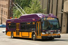Seattle New Flyer Trolleybus