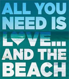 Love and The Beach...my fave things