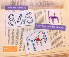 Our study spaces are made up of silent, group and quiet study! there is something to suit all learning needs!