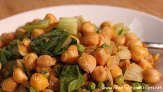 Warm Chickpea Salad Recipe | Healthy Vegan Recipes | Healthy Vegan Recipes On Video