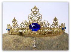 Medieval Crown  Renaissance Crown Medieval by TreasuresForAQueen, $60.00