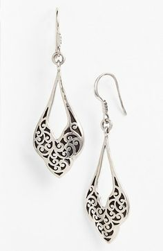 Lois Hill Open Drop Earrings available at #Nordstrom