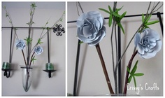 Crissy's Crafts: Metal Flowers Picture Tutorial