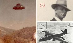 Can YOU solve these UFO cases? Vintage 'alien' photos revealed