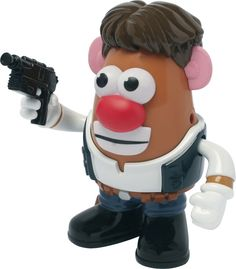 PPW Toys - Mr. Potato Head Star Wars Han Solo - Multi, 801452501516