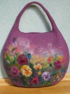 Watercolor felting by Renata of Lithuania · Felting | CraftGossip.com