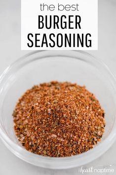 Homemade Spice Blends, Homemade Spices, Homemade Seasonings, Spice Mixes, Best Burger Seasoning, Seasoning Mixes, Hamburger Spices, Hamburger Seasoning Recipes, Grill Seasoning Recipe