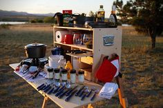Outdoorsman Camp Kitchen 4 - I had one of these Capaw made.  I bet they stole his design.