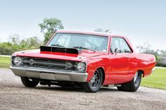 1968 Dodge Dart Three Quarters Front View 001