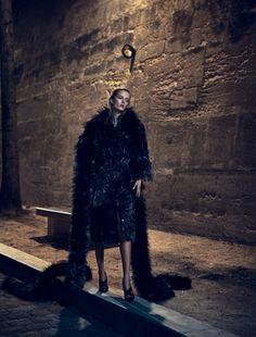 Daria Strokous Goes Darkly Un 'La Nuit De La Couture' For Numéro #166 September2015 - 3 Sensual Fashion Editorials | Art Exhibits - Women's Fashion & Lifestyle News From Anne of Carversville