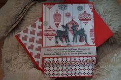 Weihnachtskarte Reh von Build a picture auf DaWanda.com Christmas Cards, Etsy, Ideas, Deer, Dots, Xmas Cards, Christmas E Cards, Christmas Letters, Thoughts