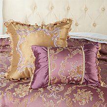 Hutton Wilkinson Floral Opulent Decorative Pillow Pair