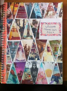 Customized notebook {DIY back to school} {Selfmade}