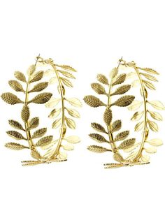 Arabella Ave by Tina  http://www.arabellaave.com/#a_aid=TinaGowans  LEAF HOOP EARRING  $12.00 Beautiful new earrings - love these!! 2 1/2 inch drop Nickel and lead compliant