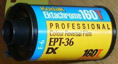 KODAK EKTACHROME 160T 35mm SLIDE FILM EXPIRED LOMO 2004 36 exp
