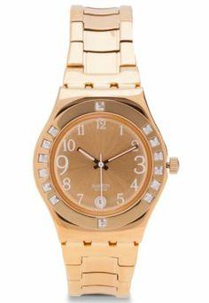 Me encanta! Miralo! Reloj Swatch Fancy Me  Dorado  de Swatch en Dafiti