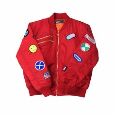 6ff4ff7d9e2 Akira red bomber jacket preorder
