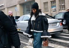 Phil Oh's Best Street Style Pics From New York's Fall 2017 Shows