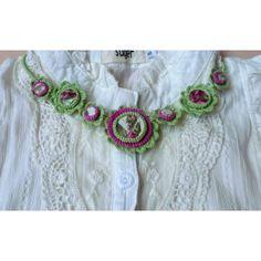 Crochet Earrings, Necklaces, Jewelry, Fashion, Moda, Jewlery, Jewerly, Fashion Styles, Schmuck