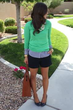 Spring Time Gingham - The Northeast Girl