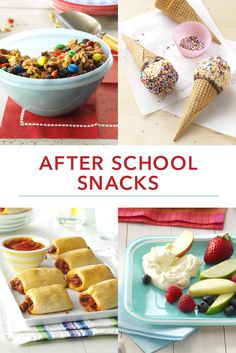 15 After School Snacks Kids Will Love