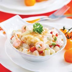 Coquilles Saint-Jacques express - Soupers de semaine - Recettes 5-15 - Recettes express 5/15 - Pratico Pratique School Is Over, Coquille Saint Jacques, Fish And Seafood, Easy Meals, Easy Recipes, Pasta Salad, Potato Salad, Food And Drink, Chicken