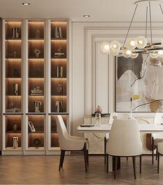 Contemporary Interior Design, Modern Contemporary, Modern Design, Living Room Sets, Dining Room Design, Kitchen Interior, House Design, City State, French Riviera