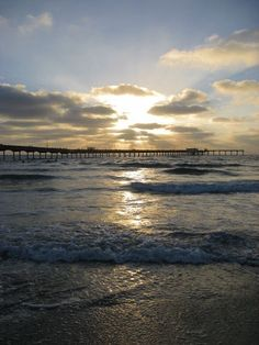 Ocean Beach Sunset Ready to ship 8x10 by ChickensNest on Etsy, $25.00