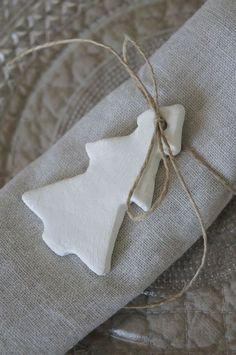 tree ornament napkin tie