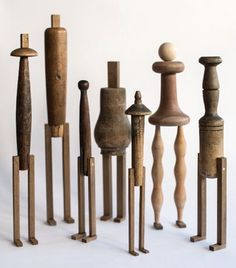 ∷ Variations on a Theme ∷ Collection of Isidro Ferrer wood assemblages