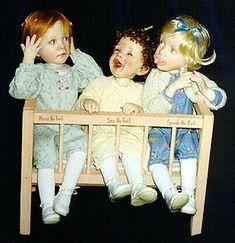Three Virtues, by Jane Bradbury 1998
