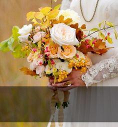 Ramos de novia con flores de otoño | telva.com