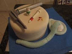 Anesthesia cake