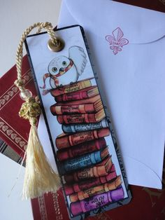 Harry Potter Bookmark & Free US Shipping by Bogies on Etsy, $7.50