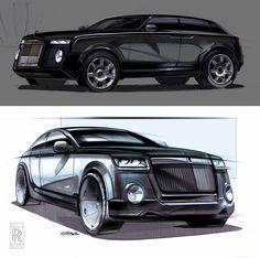 sketch vehicle