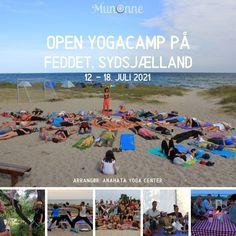 Camilla og Kåre Netterstrøm fra Anahata Yoga Center har afholdt Yogacamp med stor succes og glade mennesker i 8 år på Feddet. Alle er hjertelig velkomne på dette kursus hvor vi bl.a. spiser dejlig biodynamiske lækkerier, laver yoga i et stort telt, synger, danser, mediterer og har super sjovt sammen. Alt sammen omgivet af den skønneste natur med skov og strandkanten som nabo. Vi laver yoga under åben himmel, i det omfang vejret tillader det, enten på stranden, hvor der er et stort sandareal.