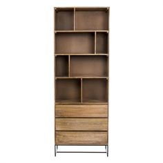 Moe's Home Collection SR-1024-24 Colvin Shelf with Drawers