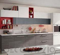 #kitchen #design #interior #furniture #furnishings комплект в кухню Cucine Lube Swing, CLS09GR