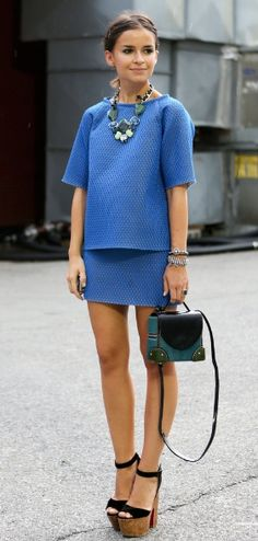 Miroslava Duma Style | Get her look on today's blog