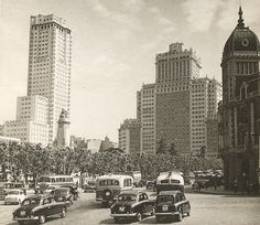 Plaza de España, 1959